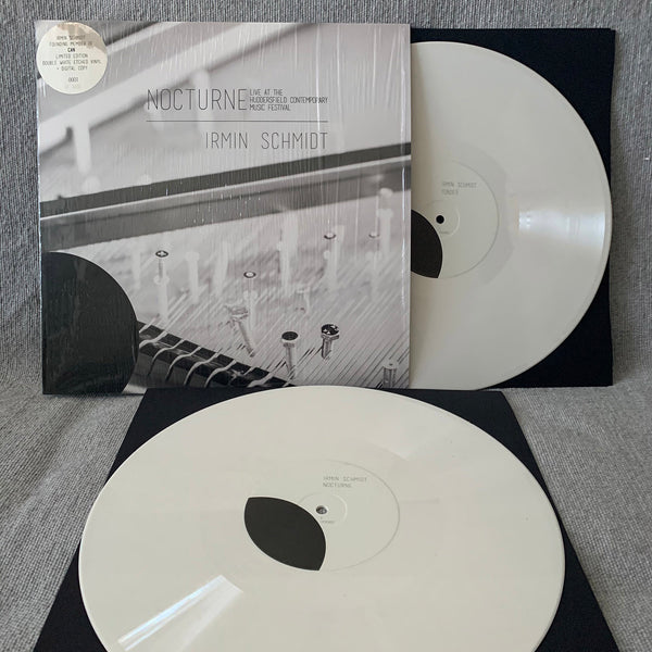 Irmin Schmidt - Nocturne (Live at Huddersfield Contemporary Music Festival) - Double White Vinyl