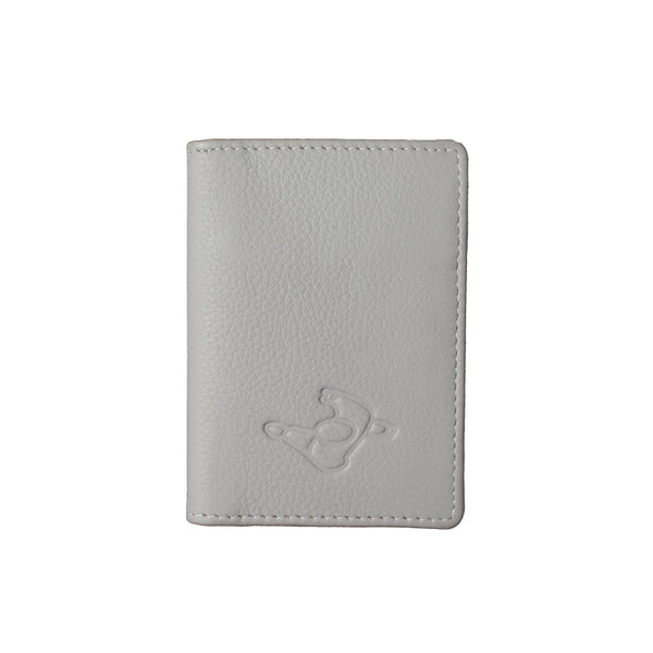 Mute Light Grey Leather Wallet