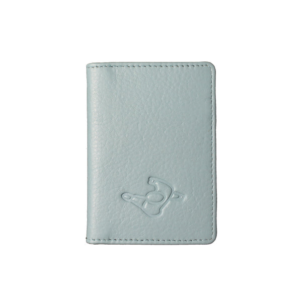 Mute Mist Green Leather Wallet