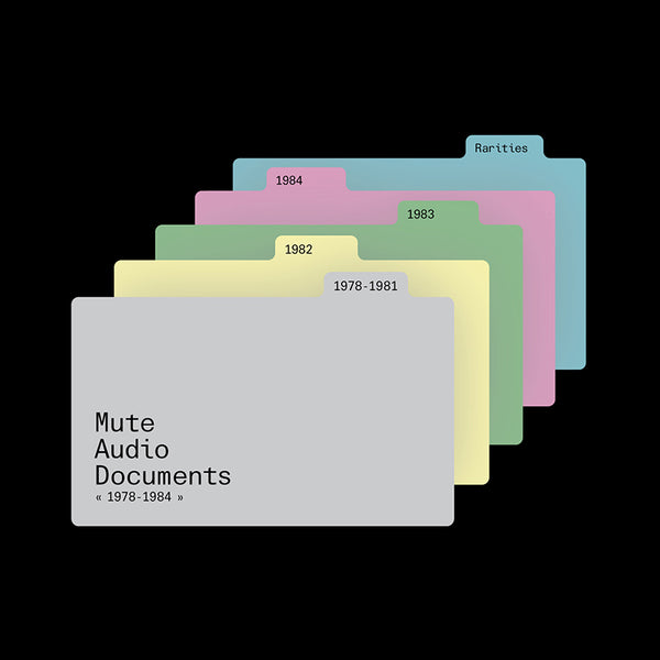 Various - Mute Audio Documents 1978-1984 - 10 CD Box Set