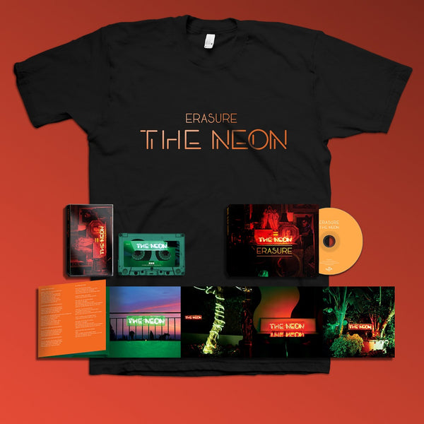 Erasure - The Neon - Deluxe CD + Cassette + T-Shirt
