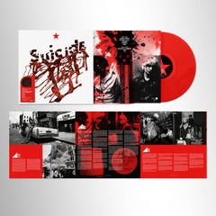 Suicide - Suicide - Limited Edition Red Vinyl + Limited Edition Badge