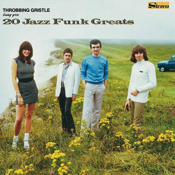 Throbbing Gristle - 20 Jazz Funk Greats - Black Vinyl