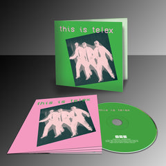 Telex - This Is Telex - CD + Double Coloured Vinyl + Cassette + T-Shirt