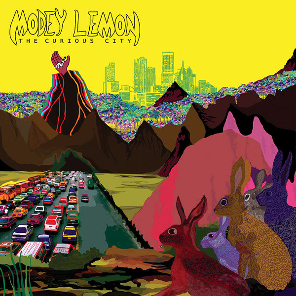 Modey Lemon - The Curious City - CD
