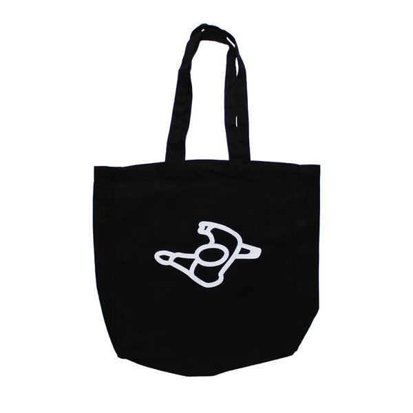 Mute Walking Man Tote Bag