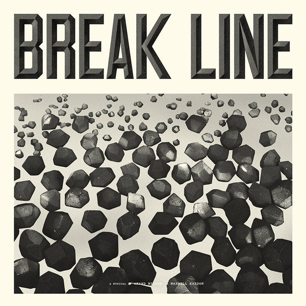 Anand Wilder & Maxwell Kardon - Break Line The Musical - CD