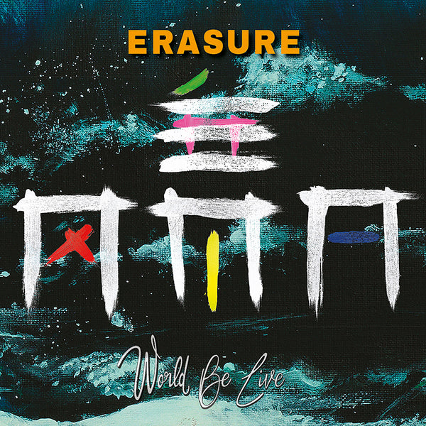 Erasure - World Be Live - Triple Vinyl