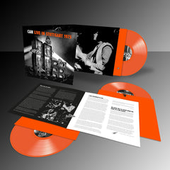 Can - Live Stuttgart 1975 - Limited Edition Triple Orange Vinyl