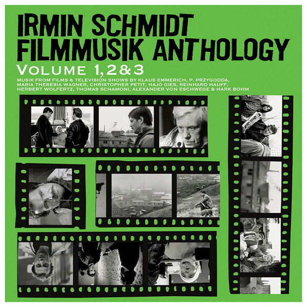 Irmin Schmidt - Filmmusik Anthology Volume 1, 2 & 3 - 3CD