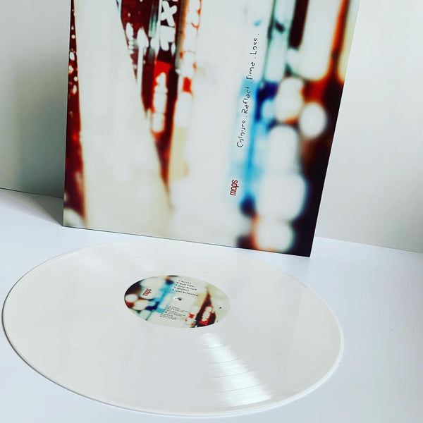 Maps - Colours. Reflect. Time. Loss. - White Vinyl