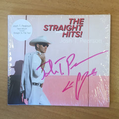 Josh T. Pearson - The Straight Hits - CD (Signed)