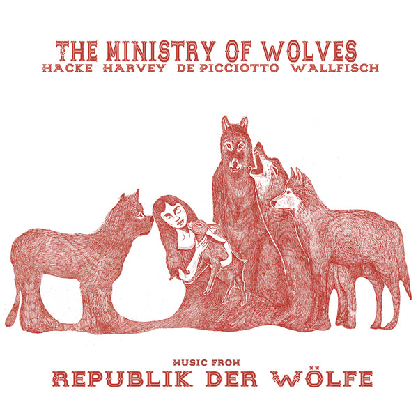 The Ministry Of Wolves - Music From Republik Der Wolfe - Vinyl