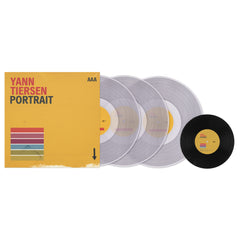 "Yann Tiersen - Portrait - Limited Edition Triple Clear 180gm Vinyl + Bonus 7"" + Photo set"