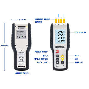 HT-9815 Contact Thermometer