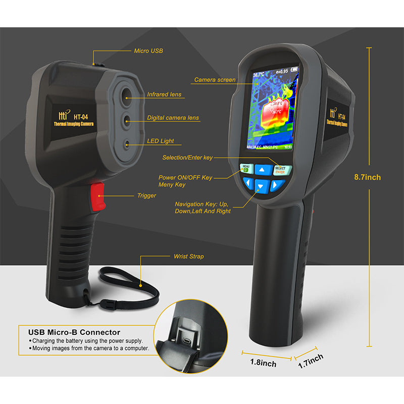 HT-04 Thermal Imaging Camera(220×160)
