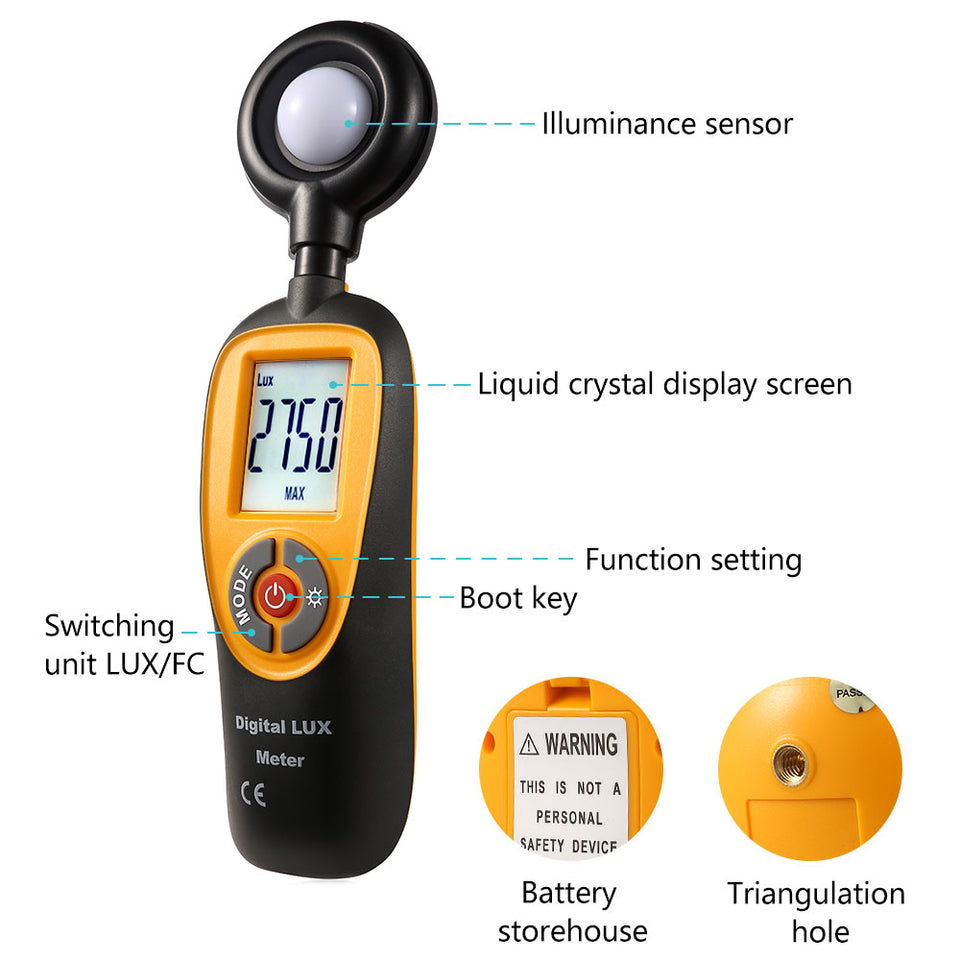 HT-92 LIght Meter - shopxintest