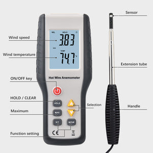 HT-9829 Thermosensitive Anemometer