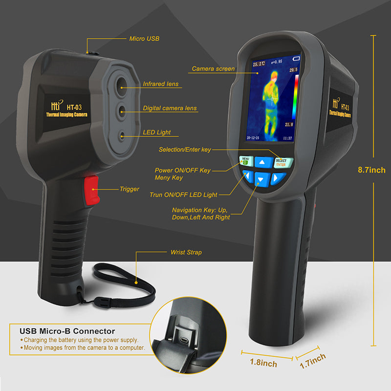 HT 03 Thermal Imager (80×60)