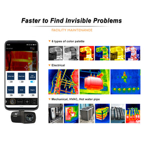 HT-201 Mobile Phone Thermal Imager(320×240)
