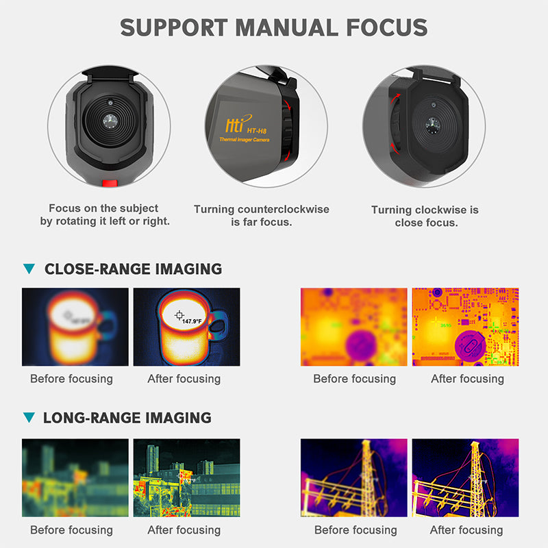 HT H8 Thermal Imager with WIFI (384×288)