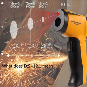 HT-88A No-contact Laser Temperature Gun