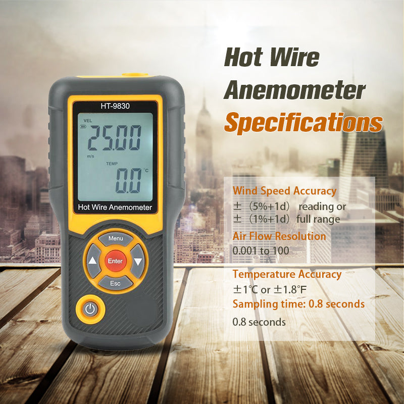 HT-9830 Hot Wire Anemometer