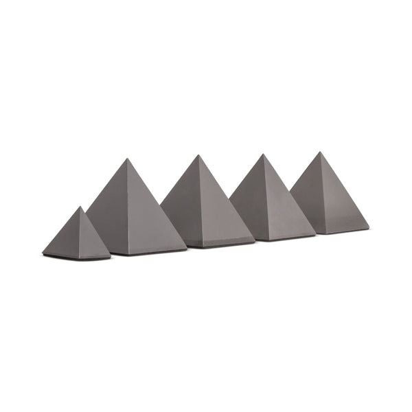4 Medium + 1 Small - Orgonite® Pyramid Set