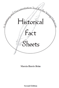 Historical Fact Sheet Automated Forms