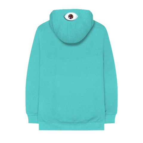 I CAN SEE PULLOVER HOODIE (TEAL)
