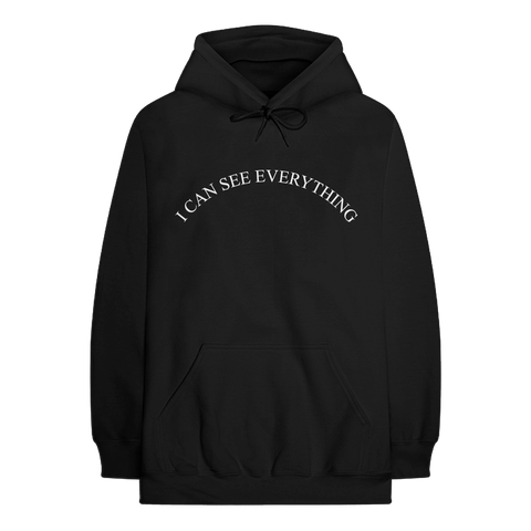 I CAN SEE PULLOVER HOODIE (BLACK)