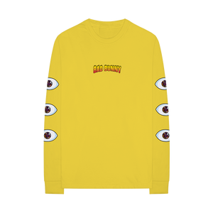 EYE LONGSLEEVE (YELLOW)