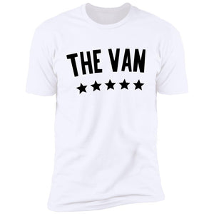 The Van Black Logo NL3600 Premium Short Sleeve T-Shirt
