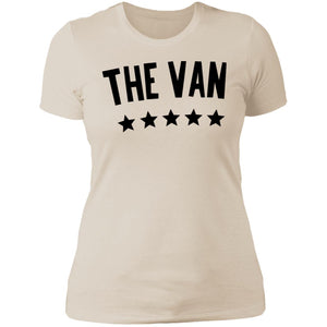 The Van Black Logo NL3900 Ladies' Boyfriend T-Shirt