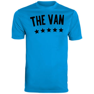 The Van Black Logo 791 Youth Wicking T-Shirt
