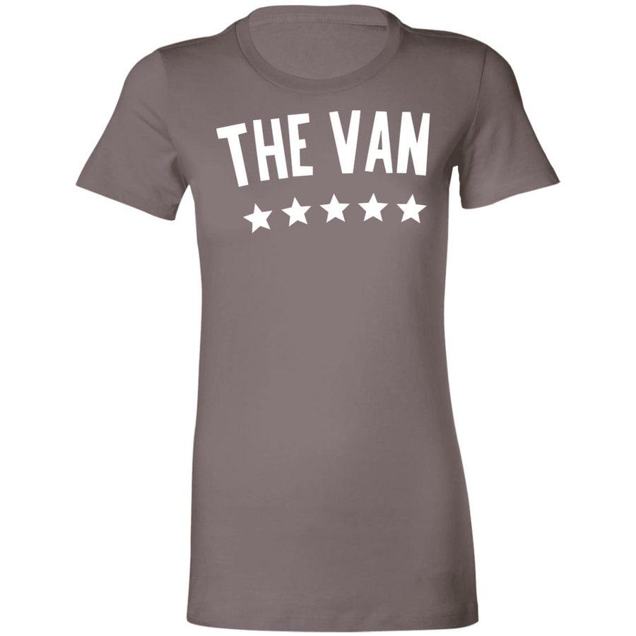 The Van White Logo 6004 Ladies' Favorite T-Shirt