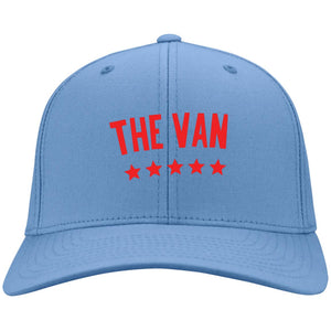 The Van Red Logo CP80 Twill Cap