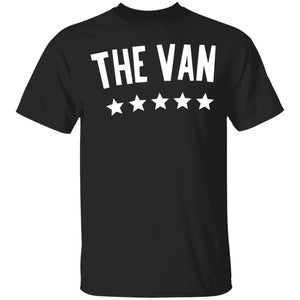 The Van White Logo G500B Youth 5.3 oz 100% Cotton T-Shirt