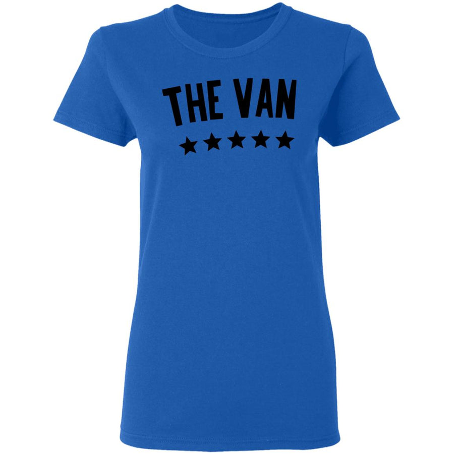 The Van Black Logo G500L Ladies' 5.3 oz. T-Shirt
