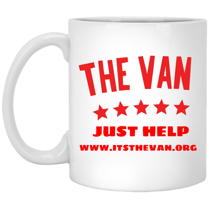 The Van (Red) White Mug
