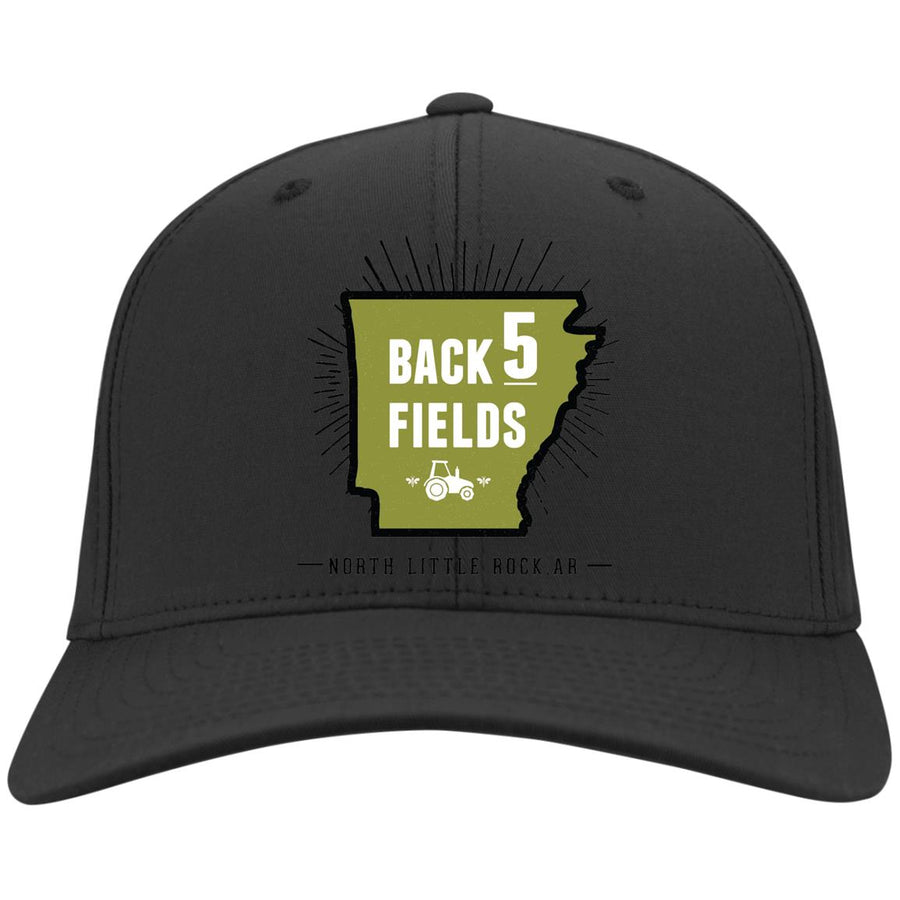 Back 5 Logo - PNG C813 Flex Fit Twill Baseball Cap