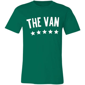 The Van White Logo 3001C Unisex Jersey Short-Sleeve T-Shirt
