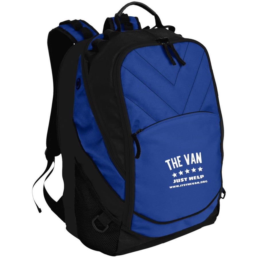 The Van White Logo BG100 Laptop Computer Backpack