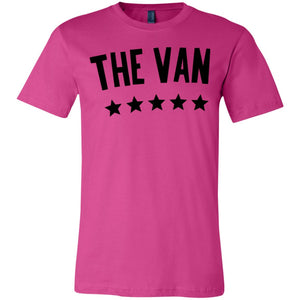 The Van Black Logo 3001Y Youth Jersey Short Sleeve T-Shirt
