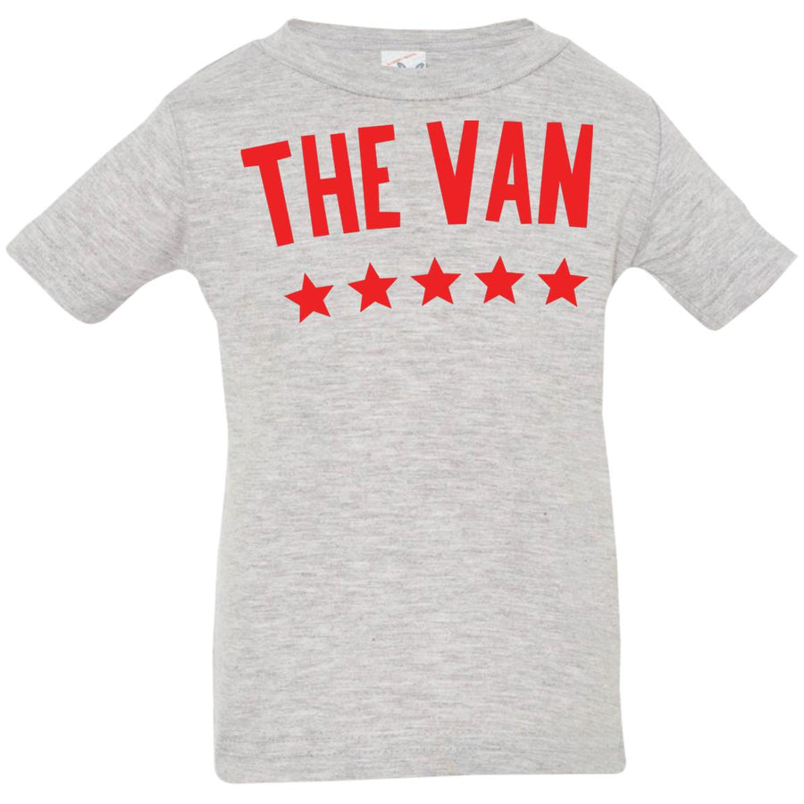 The Van Red Logo 3322 Infant Jersey T-Shirt