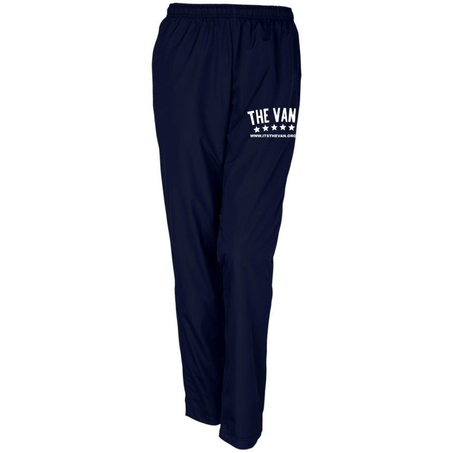 Its The Van (White) LPST91 Ladies' Warm-Up Track Pant