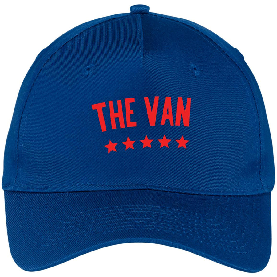 The Van Red Logo CP86 Five Panel Twill Cap