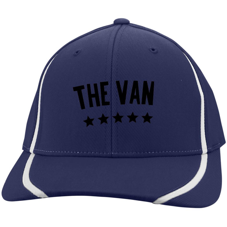 The Van Black Logo STC16 Flexfit Colorblock Cap