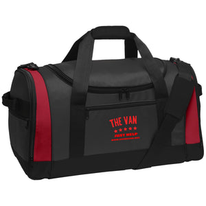 The Van Red Logo BG800 Travel Sports Duffel