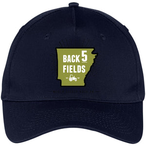 Back 5 Logo - PNG CP86 Five Panel Twill Cap